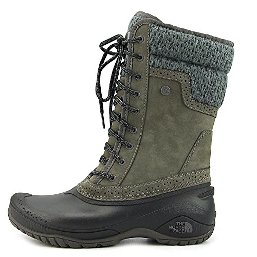 The North Face Shellista II Mid Boot Women's Plum Kitten Grey/Phantom Grey 9.5 by The North Face (Image #3)