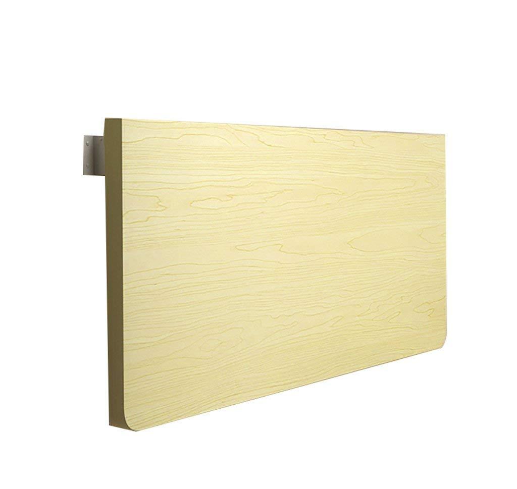 tienda de venta 8040cm Wghz Pequeña computadora Escritorio Escritorio de Parojo Dormitorio portátil portátil portátil Mesa Plegable Mesa Colgante de Parojo Mesa de Comedor, Color Arce blancoo, tamaño múltiple Opcional (Tamaño  80  40 cm)  entrega rápida