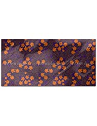 Grape Leaf Royal Rectangle Tablecloth Large Dining Room Kitchen Woven Polyester Custom Print