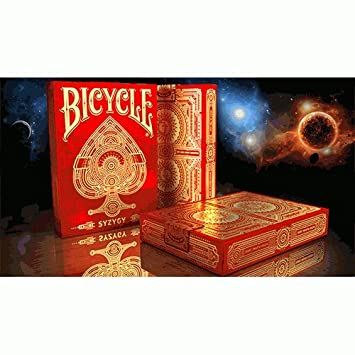 SOLOMAGIA Bicycle Syzygy Playing Cards by Elite Playing Cards ...