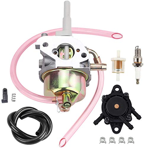 Hipa 308054078 Carburetor Fuel Pump for Ryobi RYi2200 RYi2200A RYi2200G RYCi2001 Digital Inverter 2200 Watt 106cc OHC Generator Spark Plug Fuel Filter