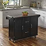 Home Styles 4515-95 Patriot Kitchen Cart, Black