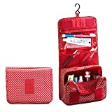 Portable Travel Hanging Toiletry Bag Medium Size Water Resistant Cosmetic Bag for Travel Accessories and Personal Items