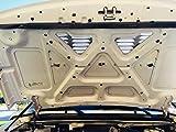 "Hummer H3 5"" Louvered Aluminum Bolt-on Louver Kit"