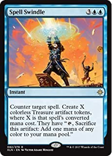 carpet of flowers mtg. spell swindle - ixalan carpet of flowers mtg o