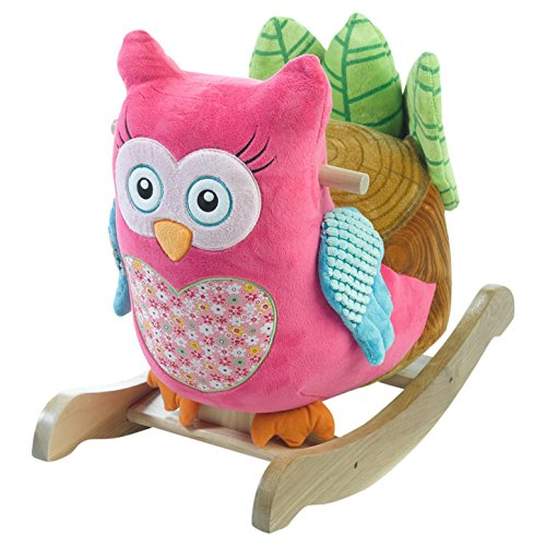 [Rockabye Owlivia Pink Owl Rocker, One Size] (Easy 80's Costume Ideas)