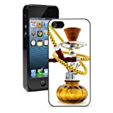 Apple iPhone 6 6s Hard Back Case Cover Hookah Bong Water Pipe (Black)