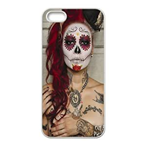 Customized case Of Sugar Skull Hard Case for iPhone 5,5S
