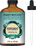#8: Peppermint Essential Oil 4 fl.oz - 100% Pure & Natural Mentha Piperita Therapeutic Grade Dropper Included- Peppermint Oil is Great for Aromatherapy, Bad Breath & Muscle Relief