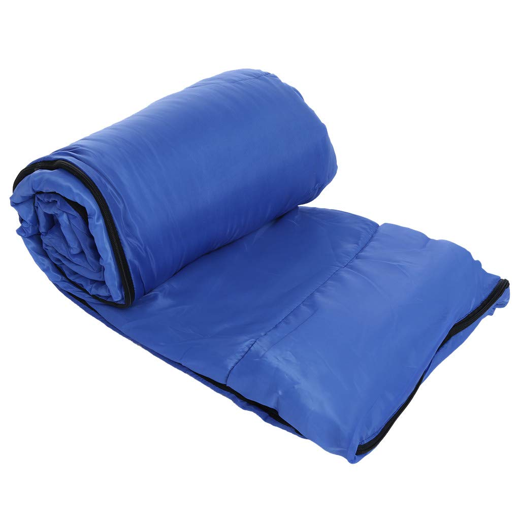 Besde Sport Sleeping Bag, Lightweight Portable, Waterproof, Comfort with Compression Sack - Great for Traveling, Camping, Outdoor Activities (Blue) by Besde Sport (Image #6)