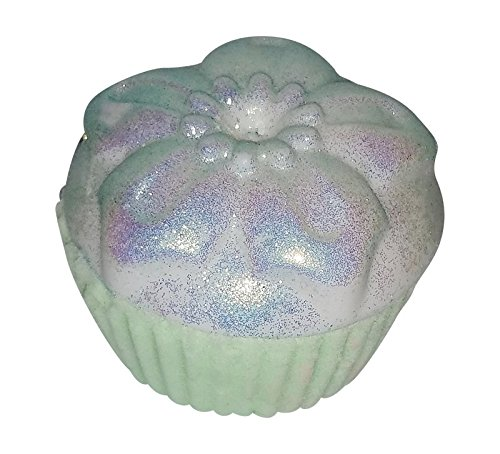 Birthday Cupcake Bath Bomb and Soap Bar with Surprise Ring Inside, Size 8