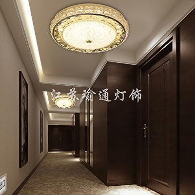 Creative Crystal LED Luz Lámpara luces de pasillo porche ...