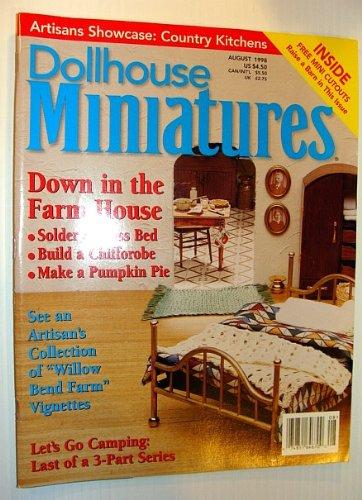 Dollhouse Miniatures, August 1998 - Down in the Farm House