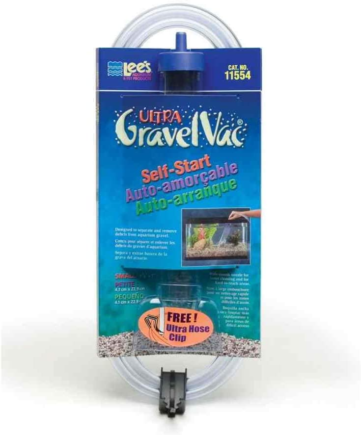 Lees Aquarium & Pet Fish Gravel Vacuum Cleaner with Nozzle Size: 9""