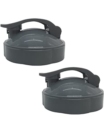 Replacement Parts flip top to-go lid for Nutribullet, 2 x Flip Top To