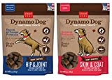Cloud Star Dynamo Dog Grain Free Soft Chews Functional Treats For Dogs 2 Flavor Variety Bundle: (1) Skin & Coat Salmon, (1) Hip & Joint Bacon & Cheese, 5 Oz. Ea. (2 Bags Total) Review