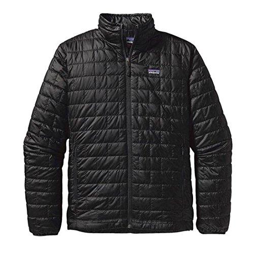 Patagonia Men's Nano Puff Jacket (Small, Forge Grey)