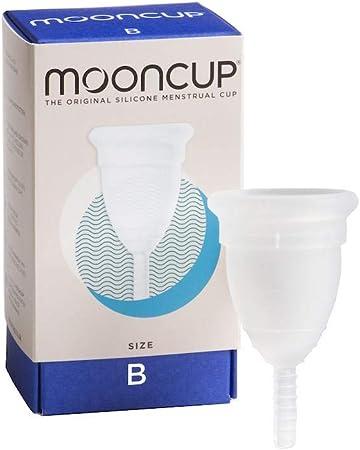 Mooncup Copa menstrual tamaño B 1 pieza (Paquete de 2)