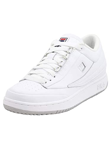 Amazon.com | Fila Men's T-1-Mid-Premio High Top Sneakers ...