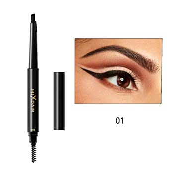 Beauty Essentials Double Head Natural Fog Feeling Automatic Eyebrow Pencil 4 Colors Durable Professional Easy To Color Tattoo Pen Cosmetics Eyebrow Enhancers