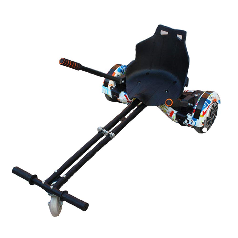 "TFCFL Adjustable Hover Go Kart Cart Fits 6.5""/8""/10""for Hoverboard Accessory (No Include Hoverboard)"