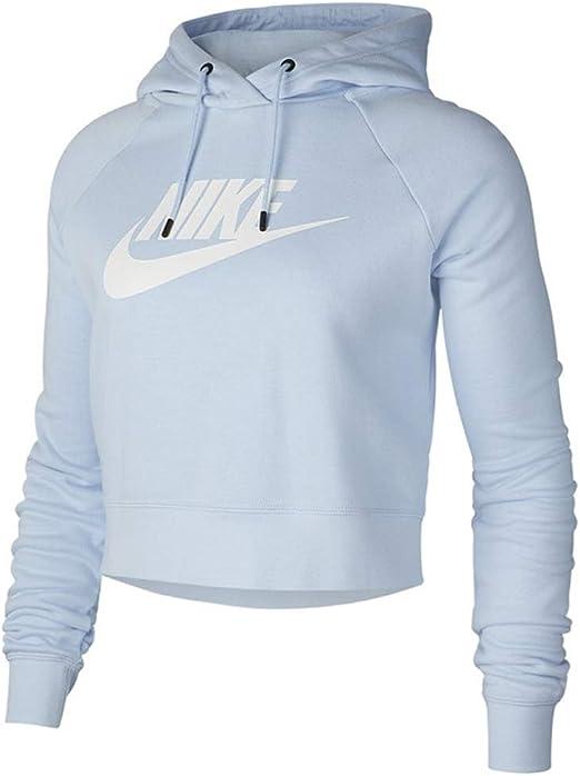Nike Womens NSW Essential Croped Hoodie Cj6327 697 at Amazon