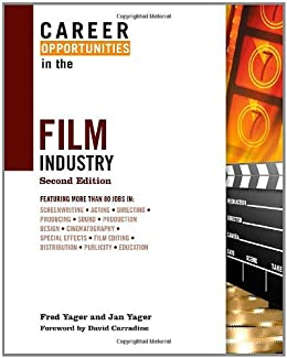 Career Opportunities Film Industry Yager ebook product image