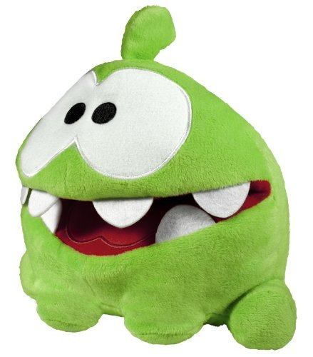 Cut The Rope 8 Hand Plush with Sound My Pal Om Nom Round 5 80081