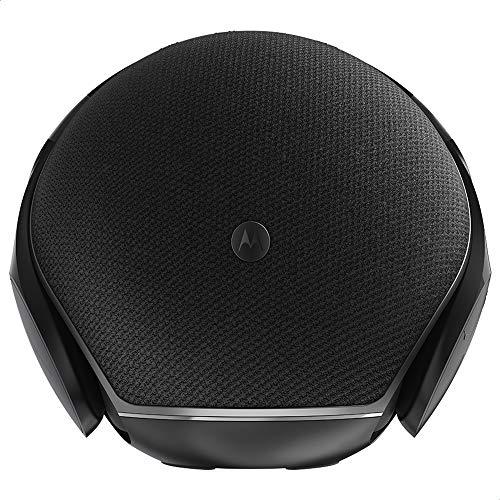 Motorola Sphere 2-in-1 Bluetooth Speaker with Over-Ear Headphones - Black