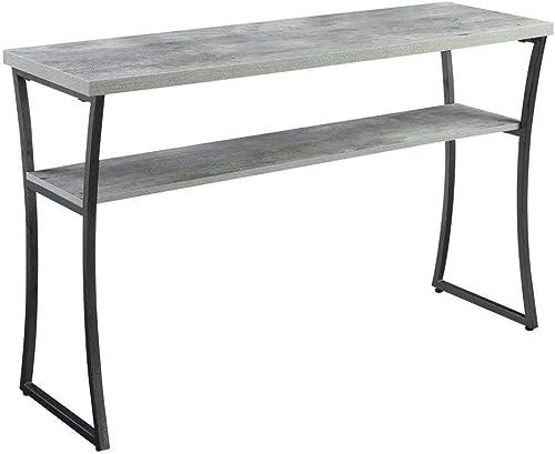 Convenience Concepts X-Calibur Console Table, Faux Birch