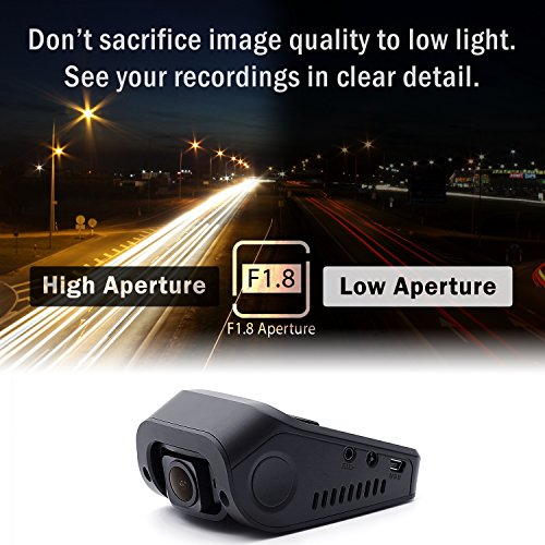 Eaglo E9 4K Car Dash Cam 170° Wide Angle Dashboard Camera Recorder with WiFi, G-Sensor, WDR, Loop Recording by REXING (Image #2)