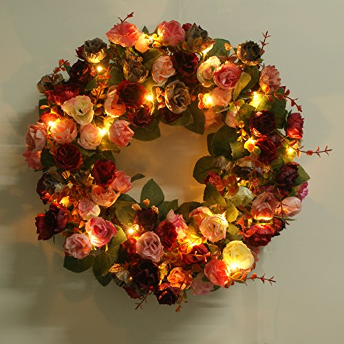 Lighted Outdoor Wreaths - 2