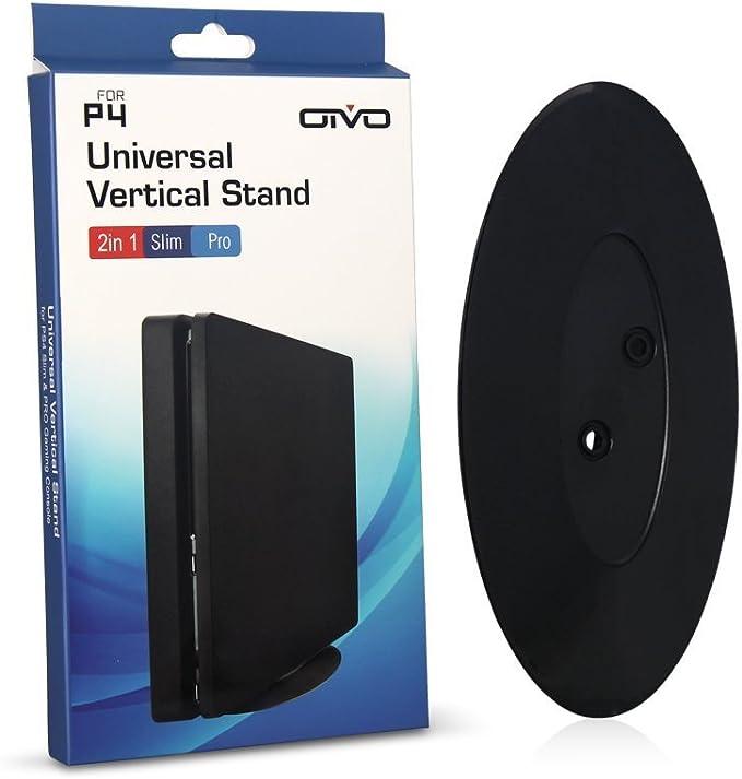 Sony Playstation 4 PRO y SLIM Soporte de consola vertical negro (PS4 PRO / S): Amazon.es: Electrónica