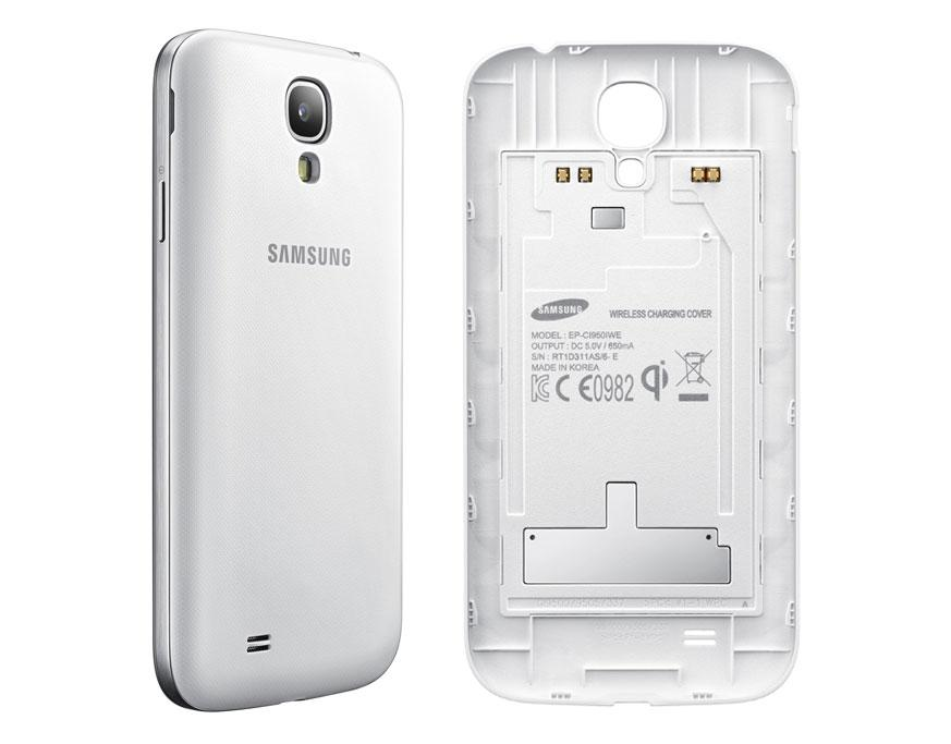 super popular a3265 72748 Samsung Galaxy S4 Case Wireless Charging Battery Cover -White (Discontinued  by Manufacturer)