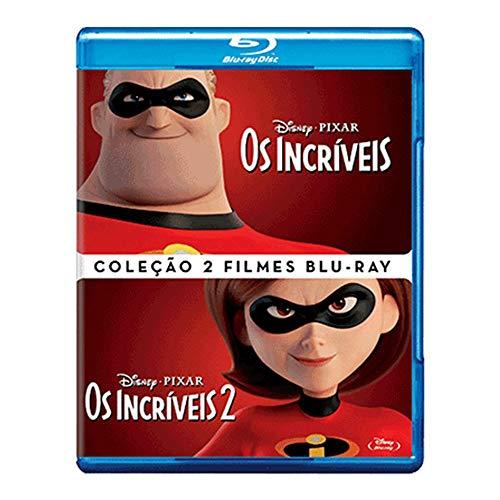 Coleção Incríveis 2 Filmes [Blu-ray]