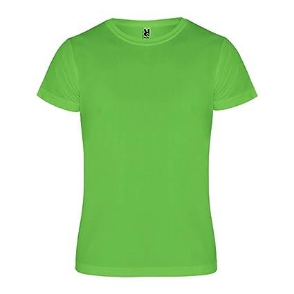 Roly Camimera, Camiseta, Verde Lima, Talla T 12