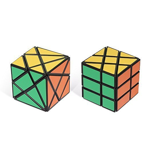 Black Cube Collection - NYKKOLA Fluctuation Angle and Wheel Puzzle Cube Collection, Black