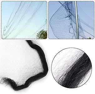 La malla de alambre de plástico de 9 tamaños detiene a las aves lejos de la red de árboles frutales vegetales para la pajarera avícola de pollo: Amazon.es: Jardín