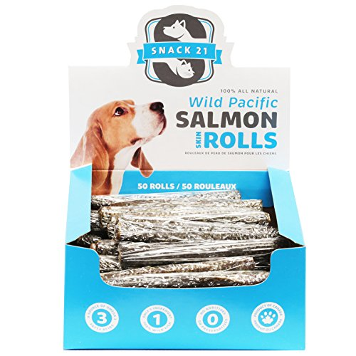 (Snack 21 Salmon Skin Rolls For)