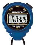 ACCUSPLIT Pro Survivor - A601X Stopwatch, Clock, Extra Large Display (Blue)