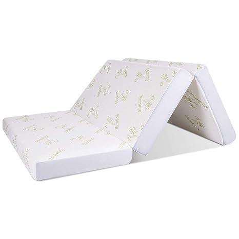 Amazon.com: Giantex - Colchón de espuma viscoelástica con ...