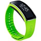Samsung ET-SR350BMEGWW Cinturino intercambiabile per Gear Fit, Verde