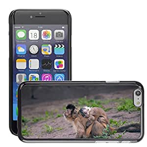 """GoGoMobile Slim Protector Hard Shell Cover Case // M00124833 Monkey With Baby Monkey With Child // Apple iPhone 6 4.7"""""""