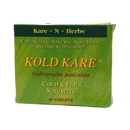 KARE-N-HERBS KOLD KARE, 40 TAB, Pack of 2 by Kare-N-Herbs