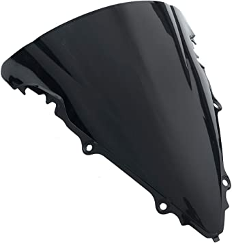 Front Windshield Windscreen Wind Screen for Yamaha YZF R6 YZF-R6  2006-2007