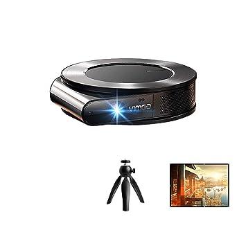 Amazon.com: Proyector de Oficina Hogar Pequeño Portátil HD ...