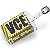 Luggage Tag Airportcode VCE Venice - Marco Polo - NEONBLOND