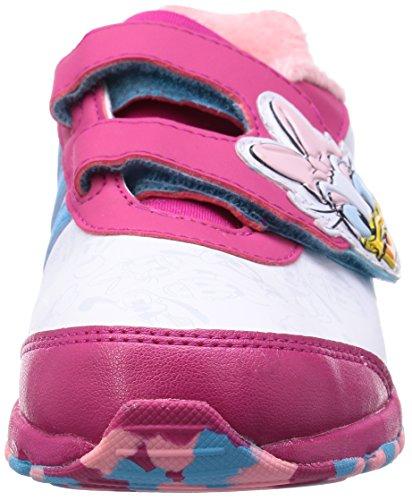 Baskets Disney Classic Daisy Duck pour b�b� fille en blanc et rose