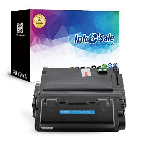 INK E-SALE Compatible Q5942X 42X Black Toner Cartridge for HP LaserJet 4200 4250 4250n 4250t 4250tn 4250dtn 4250dtnsl 4350n 4350t 4350tn 4350dtn 4350dtnsl 18000 Pages 1 Pack