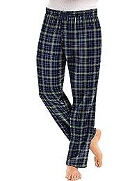 Mens Cotton Flannel Lounge Pajama Pants